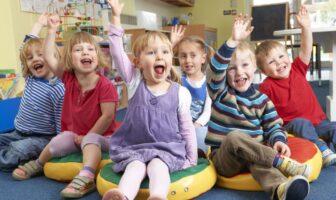 діти в садочку