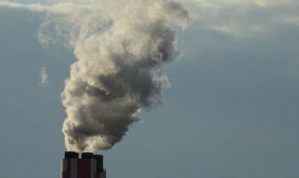 Труба, повітря, викиди, дим, газ