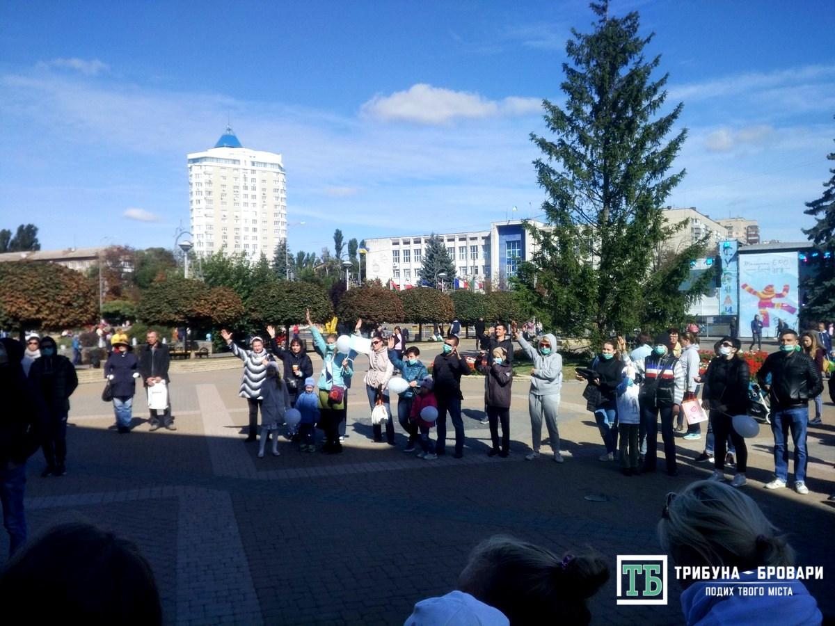 Участь у розмові під час акції протесту