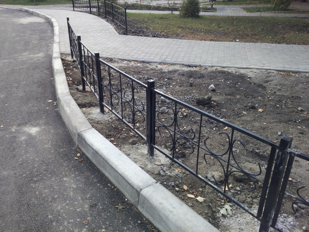 Новозбудована зелена зона