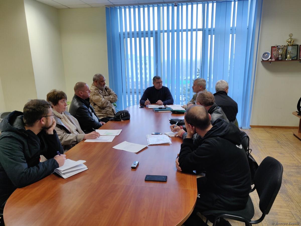 Засідання координаційної ради з питань АТО