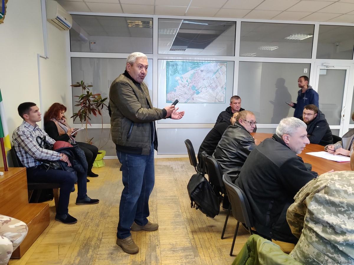 Ігор Муратов виступає на коордраді з питань АТО