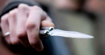 ніж, рука, напад, кримінал