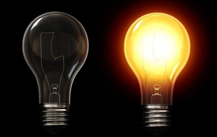 Світло, лампа розжарювання, освітлення