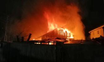 Пухівка пожежа