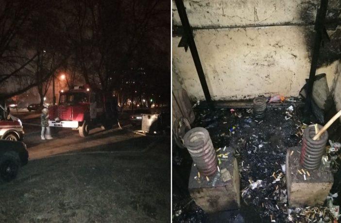 Наслідки пожежі, колаж