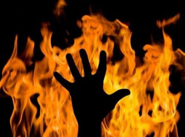 пожежа в Бобрику