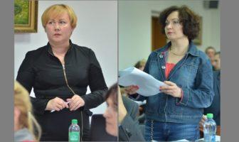 Людмила Кулініч і Ірина Веремчук