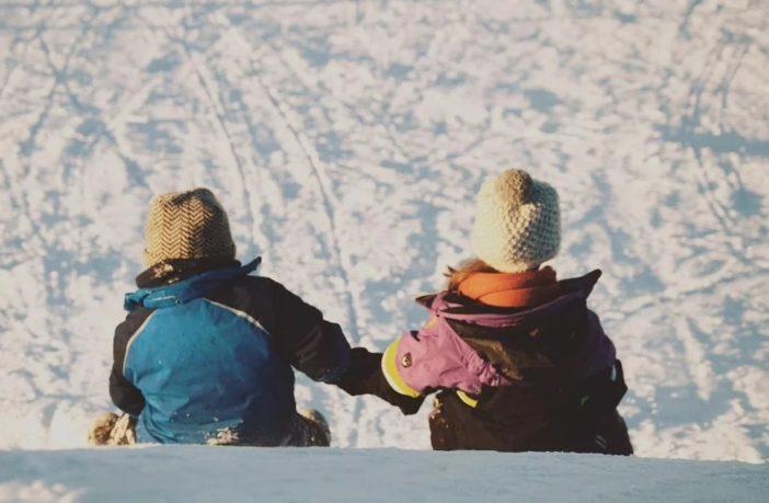 Діти взимку