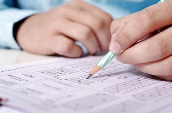 заповнення тесту