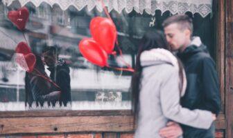 День святого Валентина, кохання, поцілунок