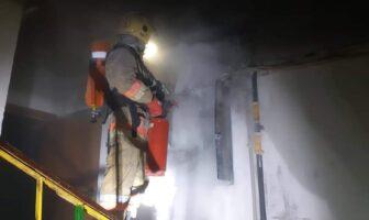 Пожежа електрощитової