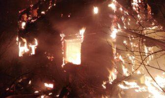 Пожежа в Кулажинцях