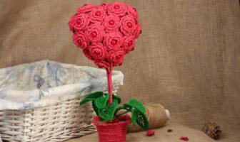 топіарій, серце, романтика