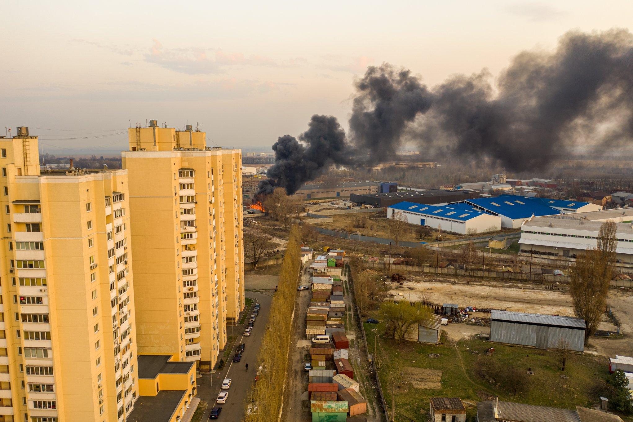 пожежа на Торгмаші