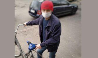 велосипедист-викрадач