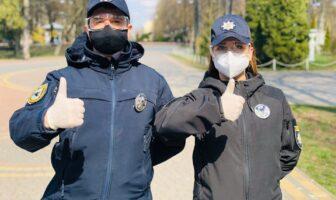 поліціянти в масках