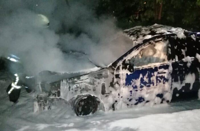 Згоріла автівка