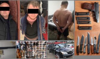 затримані і зброя
