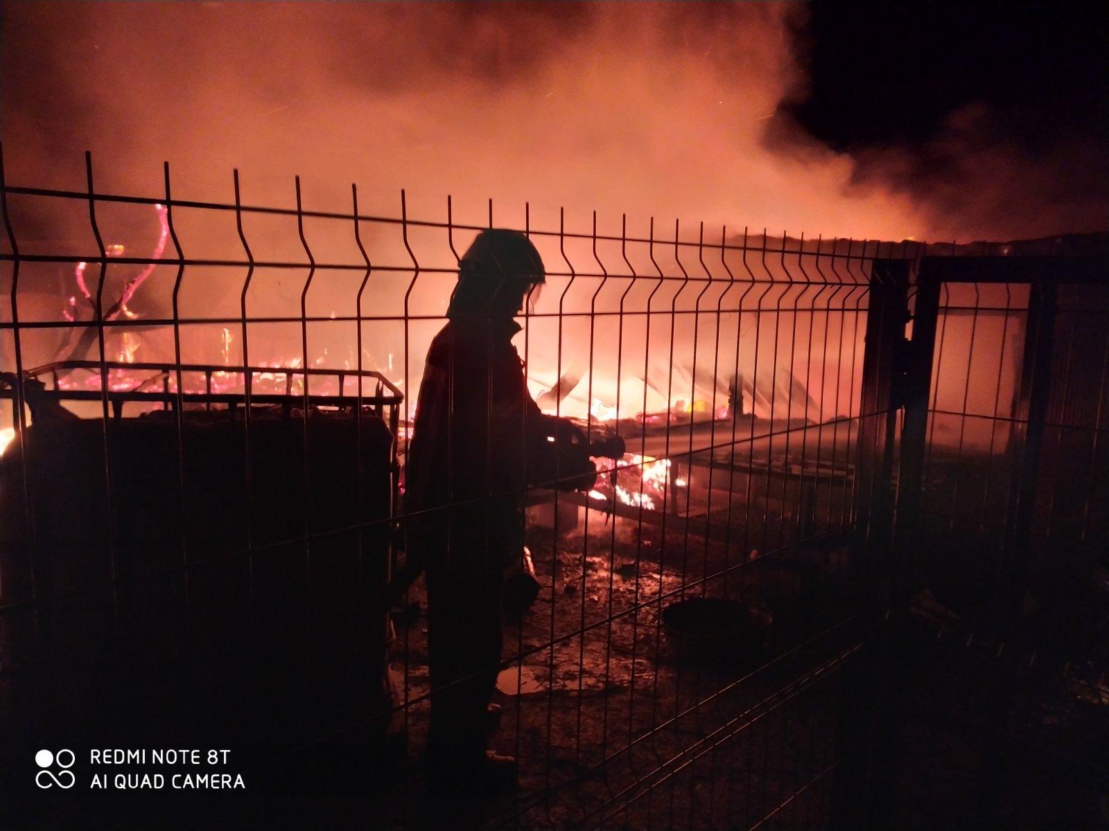пожежа в Пухівці