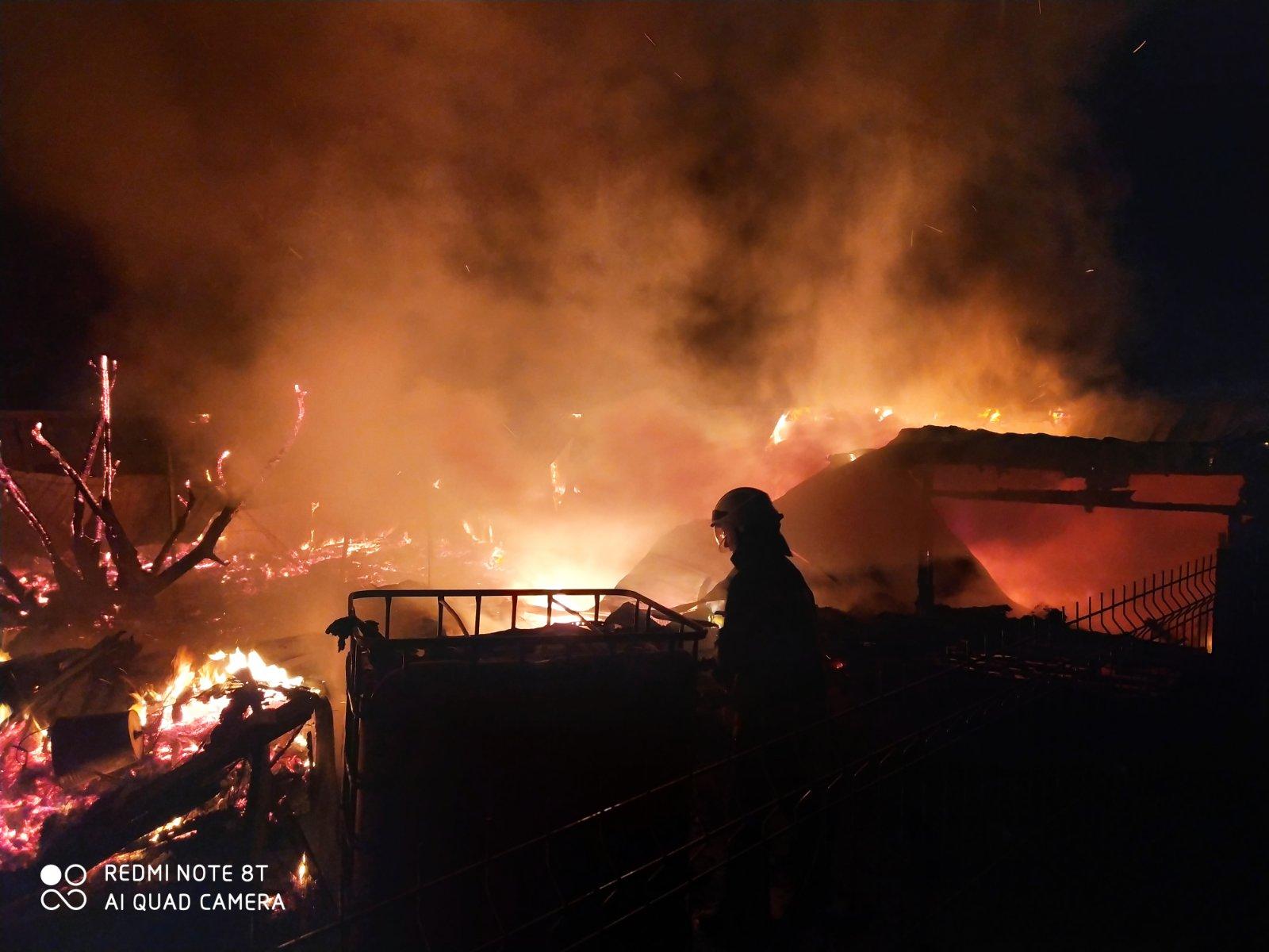 пожежа у Пухівці