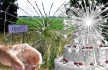 Феєрверк на торті вибухнув