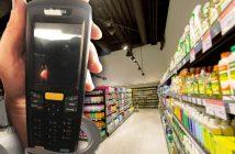 Прилад для зчитування інформації з товару вкрав в супермаркеті