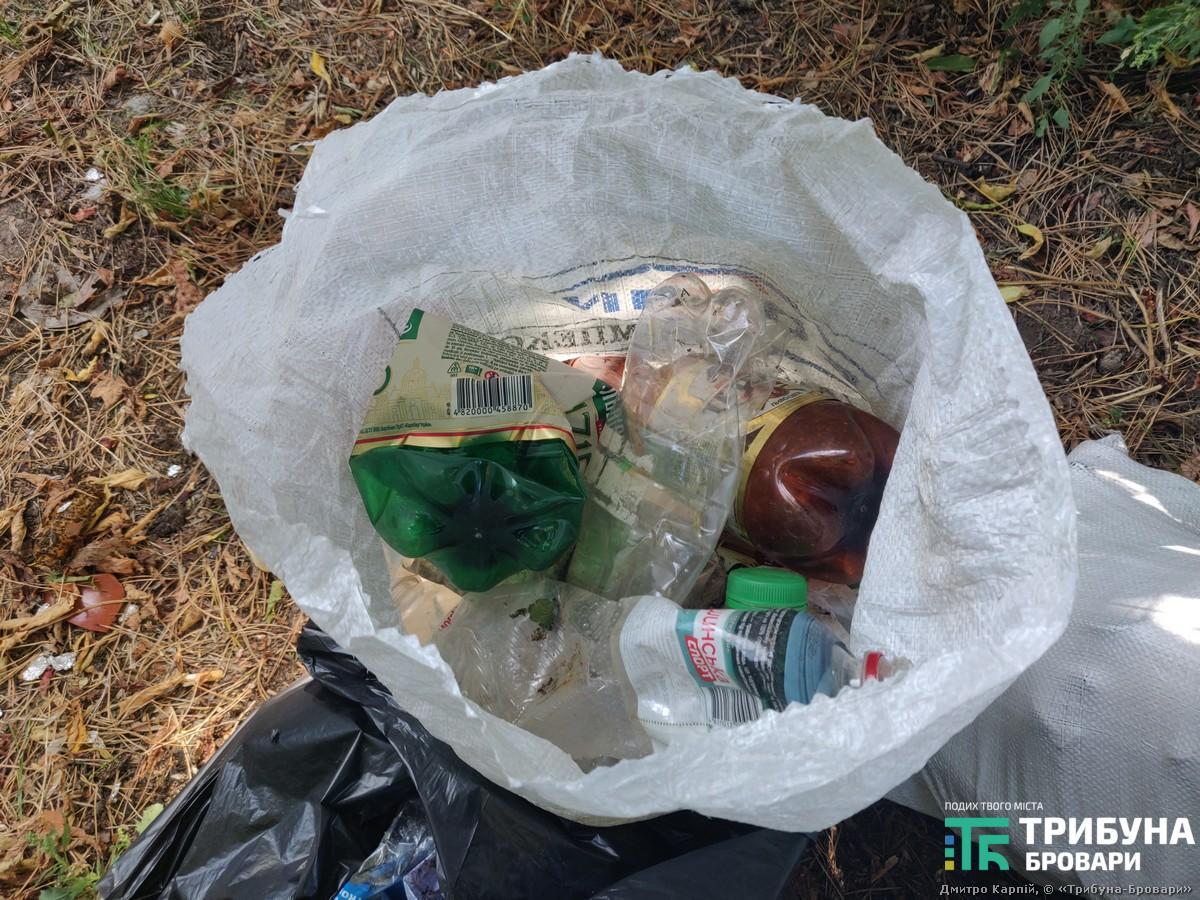 ПЕТ пляшки сміття