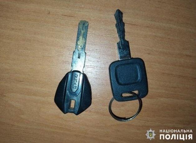 Ключі від авто