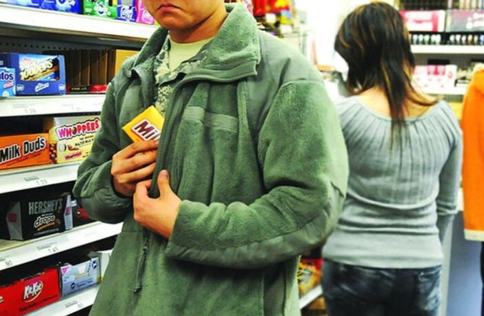 Крадіжка в магазині