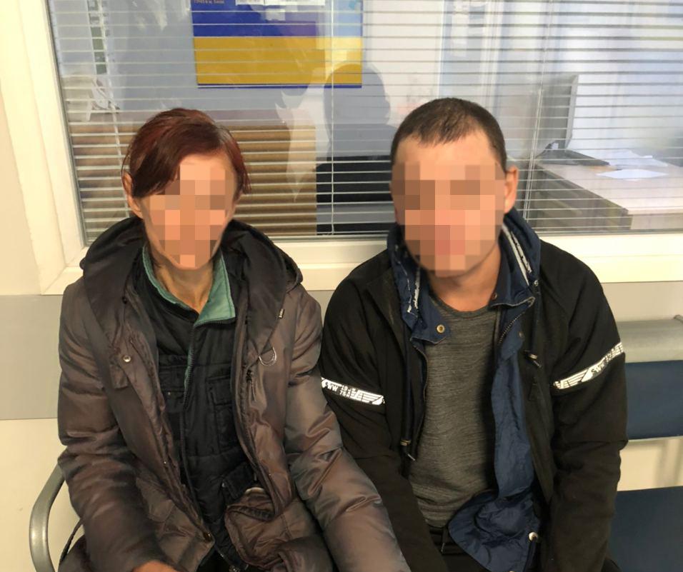 Крадіжка в супермаркеті VARUS