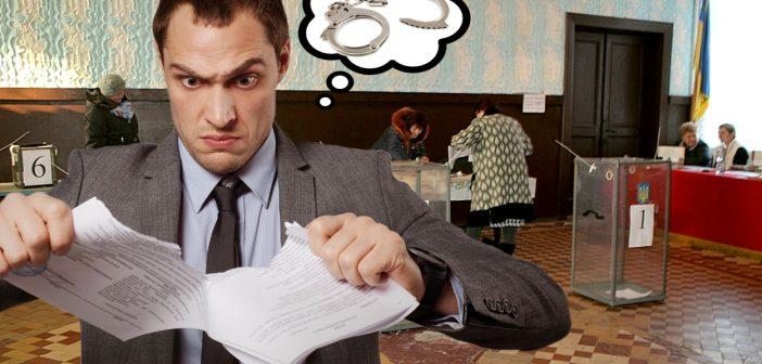 Тих, хто порве на виборах опитувальні листи Зеленського, – покарають. ВІДЕО