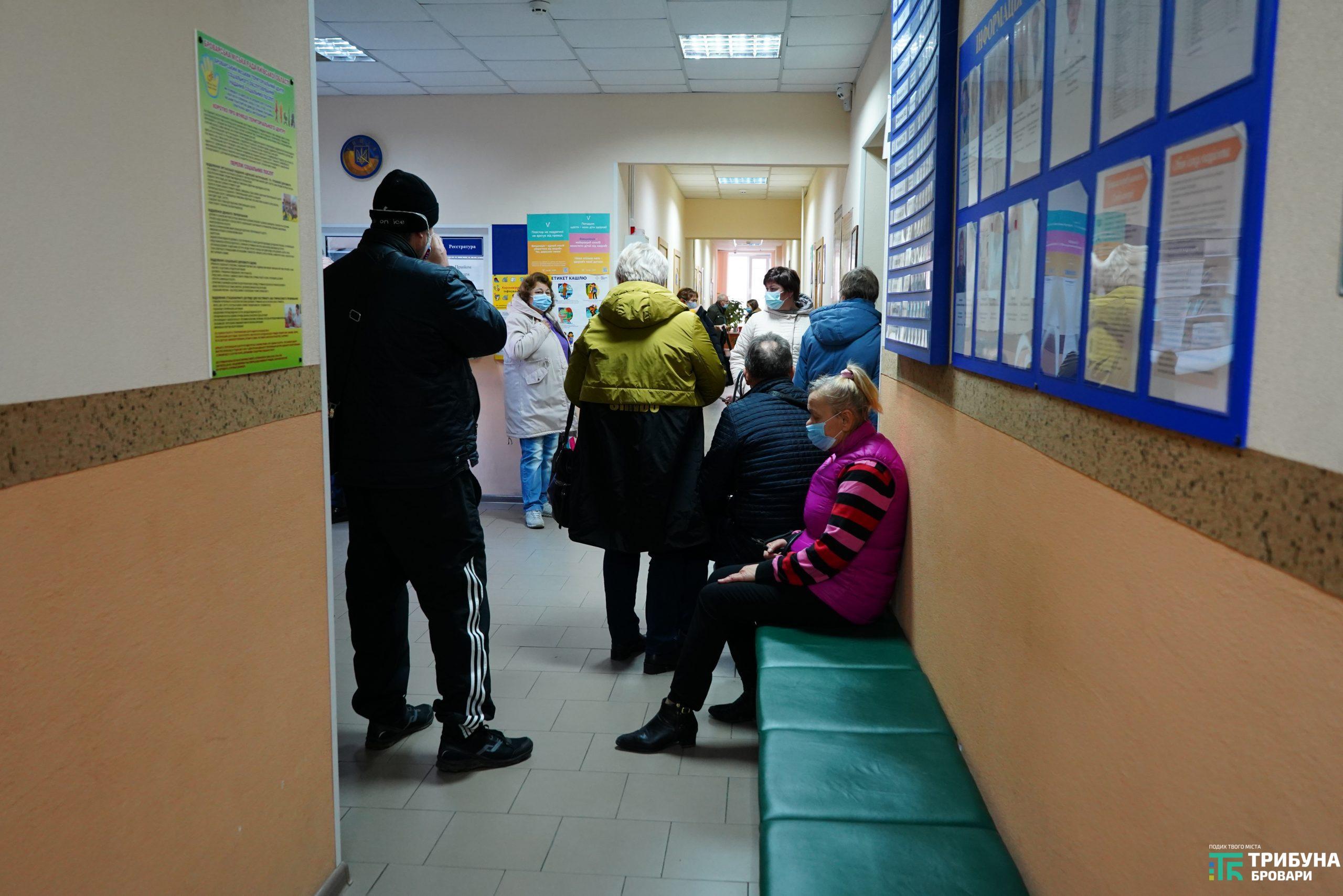 Амбулаторія, черга