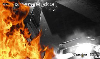Підпал автомобіля у Погребах