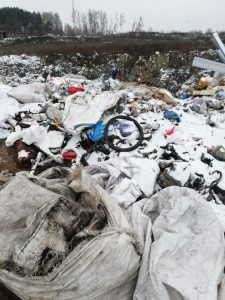 сміттєвий полігон
