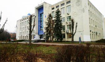 Будівля міськради фото Захарченка