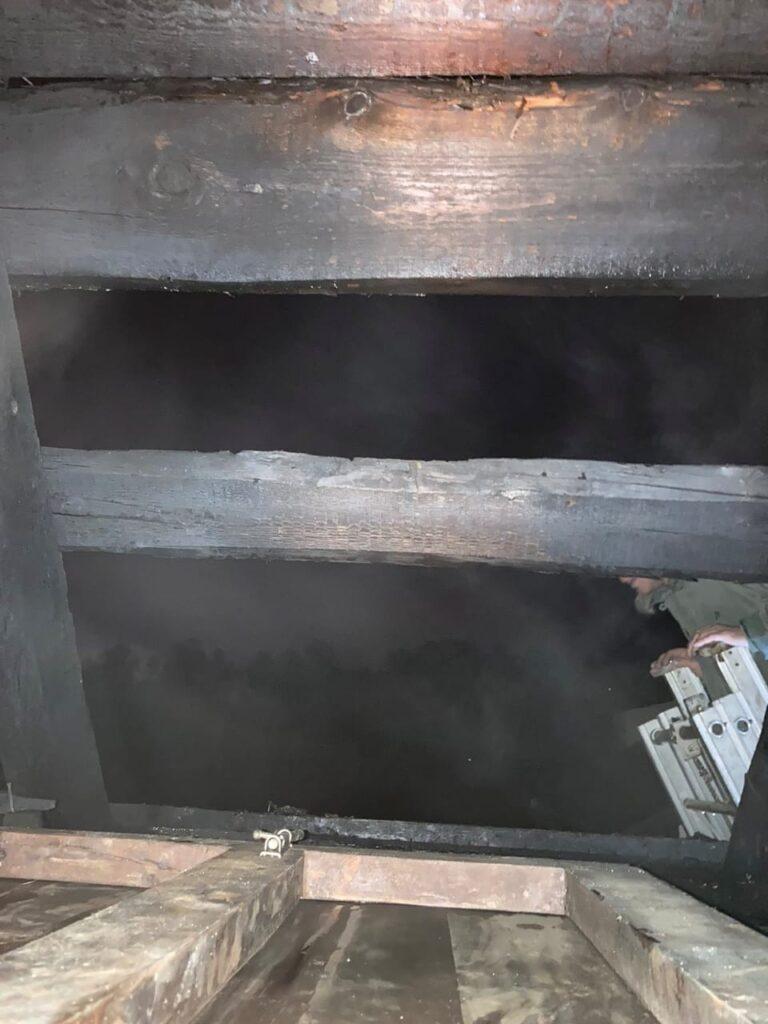пожежа літня кухня в Княжичах