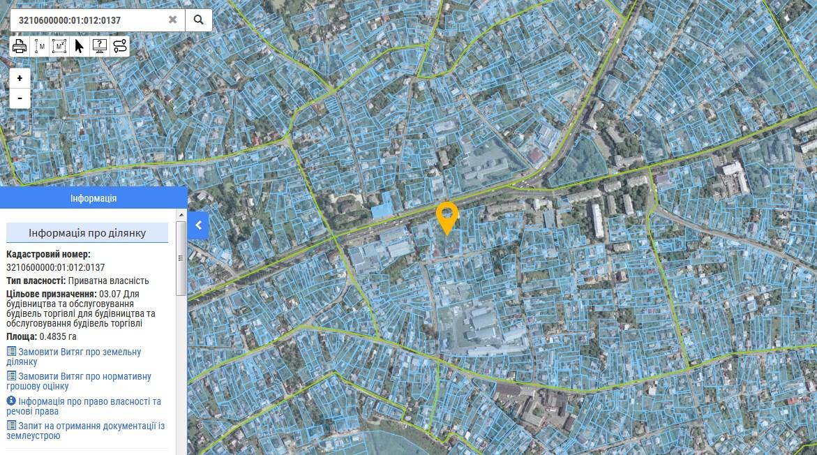Кадастрова карта