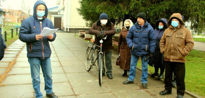 Знизити тарифи! Жителі Великодимерської громади написали лист Зеленському. ФОТО