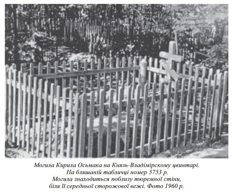 Могила Кирила Осьмака у Владимирі