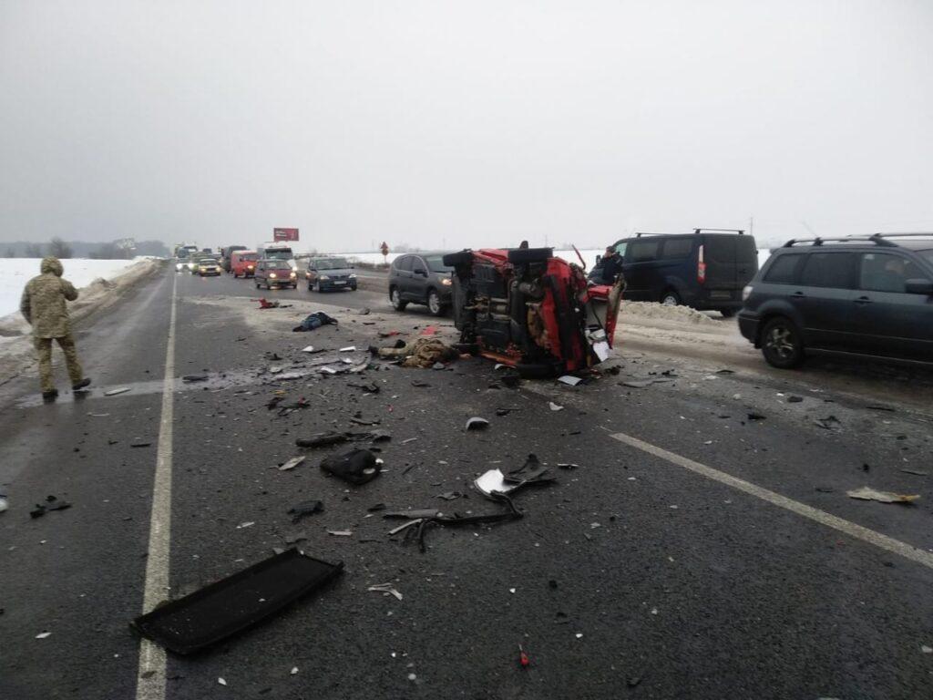 ДТП, аварія, на трасі, 2 загиблих Фото - дснс