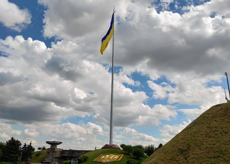 Флагшток у Києві