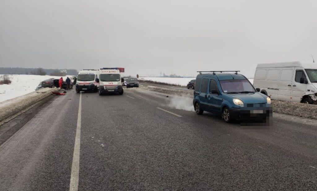 ДТП, аварія, на трасі, 2 загиблих Фото - поліція
