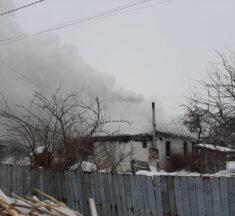 Вогонь знищив приватну садибу в Семиполках. ФОТО