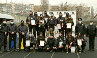 змагання легка атлетика поліція охорони
