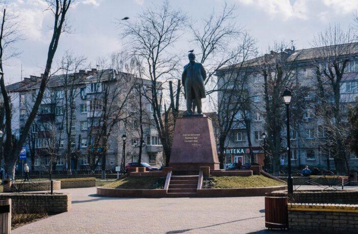 пам'ятник Шевченку у Броварах