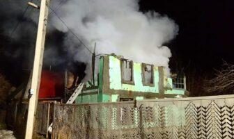 пожежа в Гайовому 10 березня 2021, фото - ДСНС