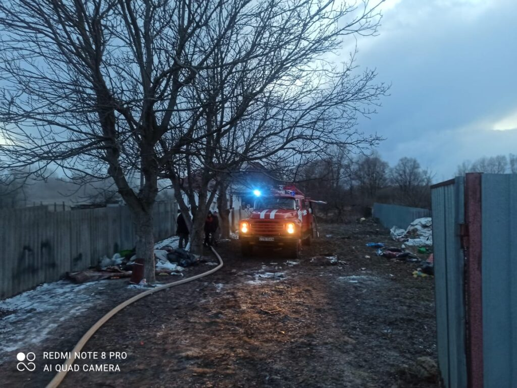 Пожежа Требухів 23.03.2021