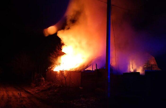 Пожежа господарча будівля Калита, 31.03.2021, Фото - ДСНС