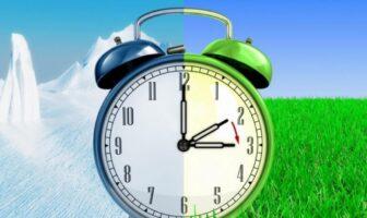 перехід на літній час годинник